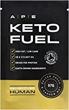 Keto Fuel 10 x 57g Keto Bar Ketogenic Protein Bars Keto Diet Meal Organic Real Food Ingredients Grass-fed Whey Boosts Ketone Levels Coconut C8 MCT Oil Cacao Cashew Nut Flavour Estimated Price : £ 34,99