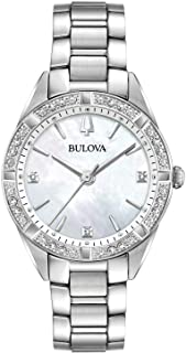 Ladies' Bulova Diamond Collection Gold-Tone Stainless Steel Diamond Accent Watch 98R228