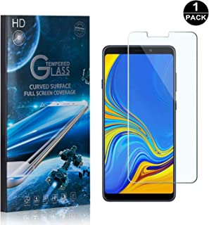 Galaxy A9 2018 Screen Protector Tempered Glass, Bear Village® Perfect Fit & Anti Fingerprint HD Screen Protector Film for Samsung Galaxy A9 2018-1 Pack