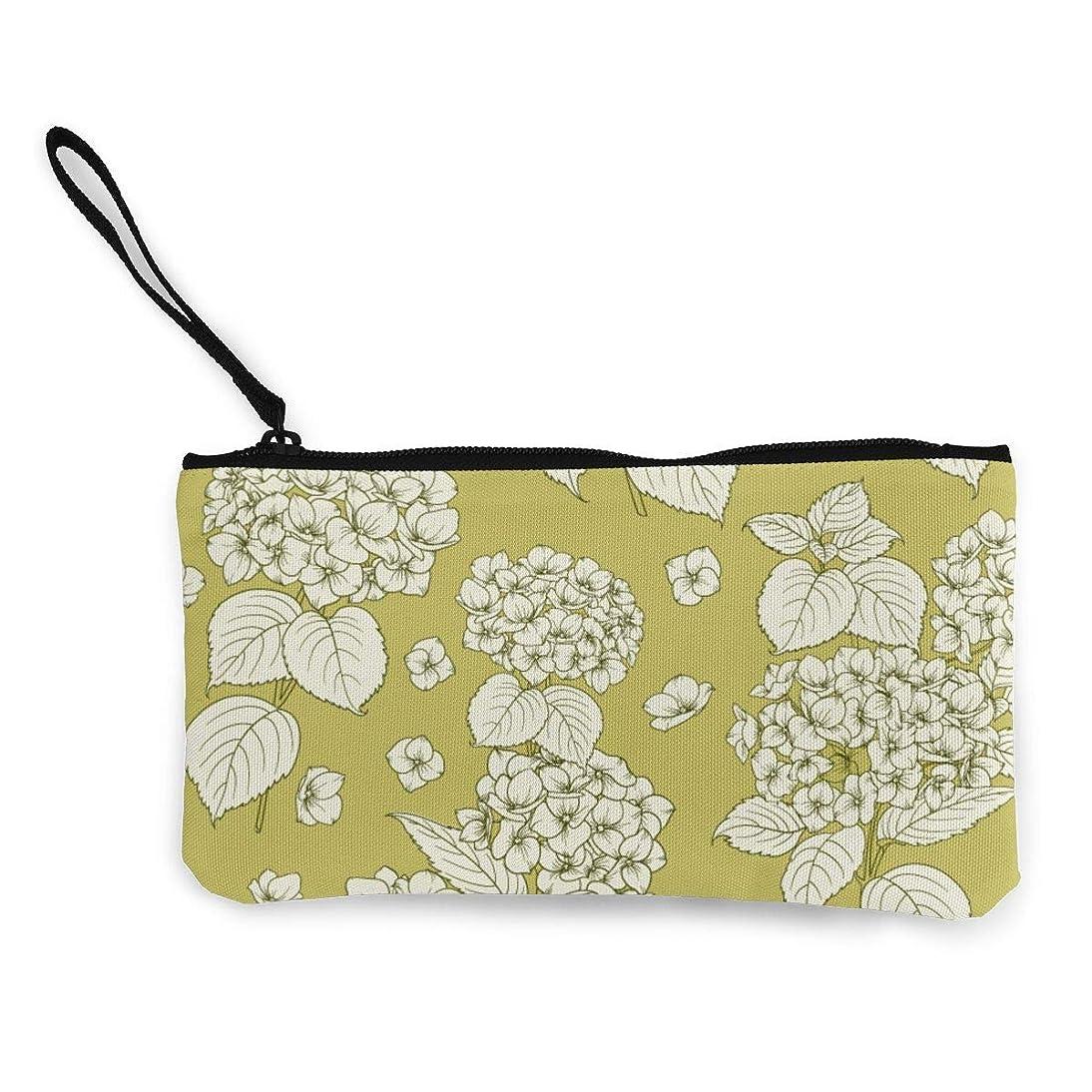 同様の無知意欲ErmiCo レディース 小銭入れ キャンバス財布 伝統的な花 小遣い財布 財布 鍵 小物 充電器 収納 長財布 ファスナー付き 22×12cm