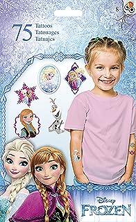 Frozen Trends International Disney Standard Tattoo 75 Count Bag