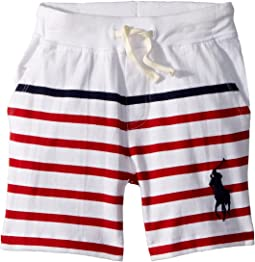 Striped Cotton Jersey Shorts (Toddler)
