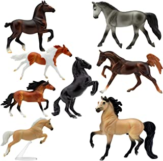 """Breyer Horses Stablemates Deluxe Horse Collection 