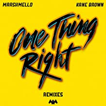 One Thing Right  KDrew Remix