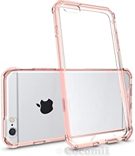 Cocomii Modern Armor iPhone 6S Plus/6 Plus Funda Nuevo [Claridad Cristalina] HD Anti-Amarilleo Anti-Rayado [Entallado] Transparente Case Carcasa for Apple iPhone 6S Plus/6 Plus (Mo.Crystal Pink)