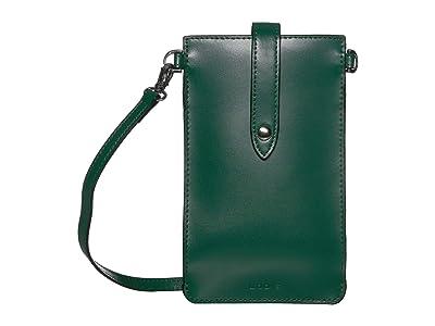 Lodis Accessories Audrey Under Lock Key Phone Crossbody (Ivy/Deep Plum) Handbags
