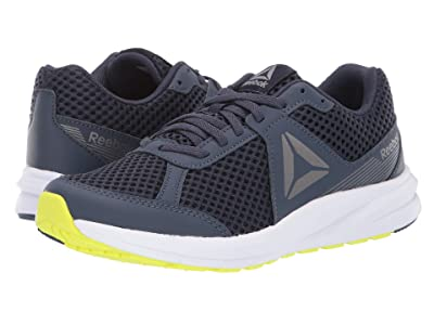 Reebok Kids Endless Road (Big Kid) (Navy/Pewter/White/Yelloe) Boys Shoes