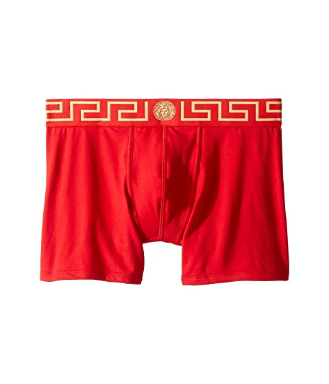 Versace Iconic Long Boxer Brief with Black Band