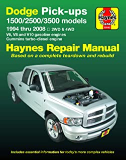 1999 dodge ram 1500 owners manual