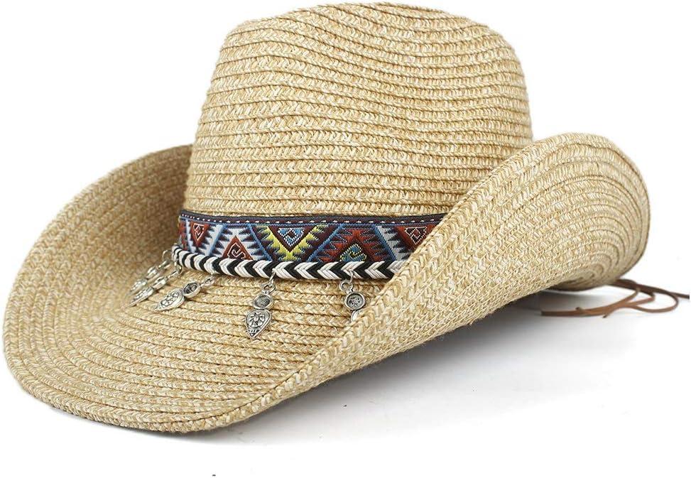 LIRRUI Western Soldering Cowboy Hat Bohemian Ranking TOP4 Summ Hollow Women Tassel Lady
