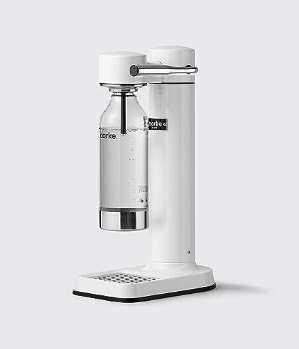 AARKE AA001 Carbonator II Machine à Eau pétillante, White