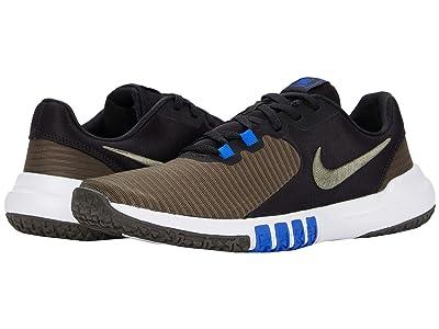 Nike Flex Control 4 (Black/Twilight Marsh/Newsprint) Men