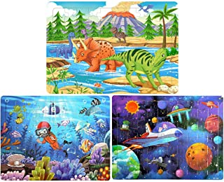 Best wooden jigsaw puzzles for kids Reviews