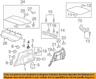 Genuine Honda 84661-SWA-A01ZA Left Tonneau Cover Cap