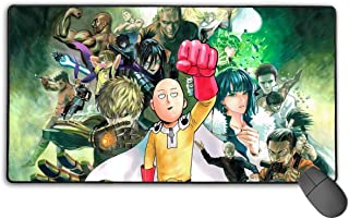 ONE Punch Man Non-Slip Mouse Pad Rectangle Rubber Gaming Mouse Pad Anime Mouse Pad 30x15.7 Inch(75x40 cm)