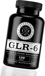 Intestinal Fortitude GLR-6 - Gut Lining Repair Supplement - Leaky Gut - IBD - IBS - Marshmallow Root - Slip...