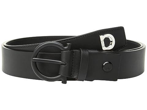 Salvatore Ferragamo Adjustable Wrap Belt with Gancio