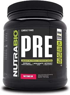 NutraBio PRE Workout V5 - Watermelon
