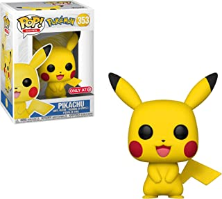 Funko Pikachu (Target Exc) Pop Games Vinyl Figure & 1 Compatible Graphic Protector Bundle (31528 - B)
