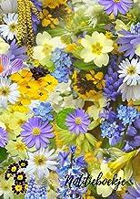 notitieboekje: notitieboekje bloemen A4 perfect om uw notities te schrijven, 120 pagina's, blanco bekleed, leuk dagboek vo...