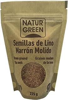 Lino Marrón Molido Bio Naturgreen 225g