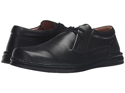 Birkenstock Memphis (Black Leather) Men