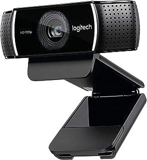 Logitech C922 Pro Stream Full HD Webcam with Mic and Adjustable Tripod