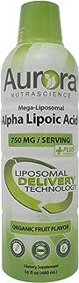 Aurora Nutrascience, Mega-Liposomal R-Alpha Lipoic Acid+ 750 mg with Vitamin C