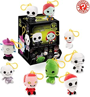 Funko Nightmare Before Christmas - One Mystery Blind Bag Keychain Plush, Multicolor