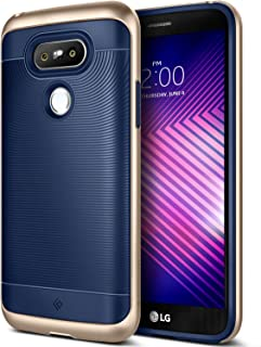 Caseology Wavelength for LG G5 Case (2016) - Stylish Grip Design - Navy Blue