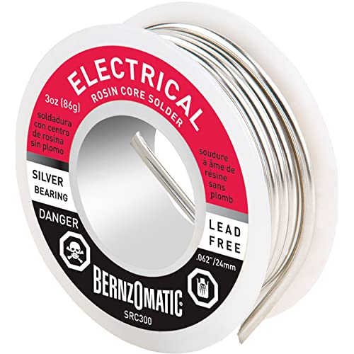 BernzOmatic SRC300 3 oz. Lead Free Rosin Core Solder