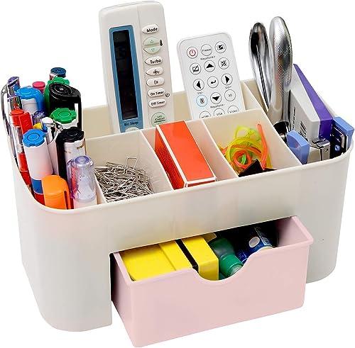 Almand Plastic Cosmetic Storage Box Organizer Colour May Vary 1 Pcs