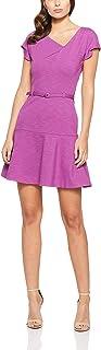 Oxford Women's Abbey Ponti Dress, Deep Lilac