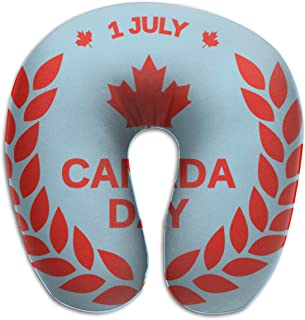 Gkf U Shaped Pillow Neck Canada Day July 1st Travel Multifunctional Pillow Car Airplane
