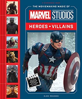 MOVIEMAKING MAGIC OF MARVEL STUDIOS HEROES & VILLAINS HC