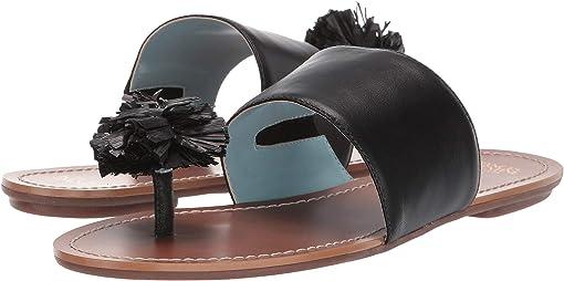 Black Specchio/Black Raffia
