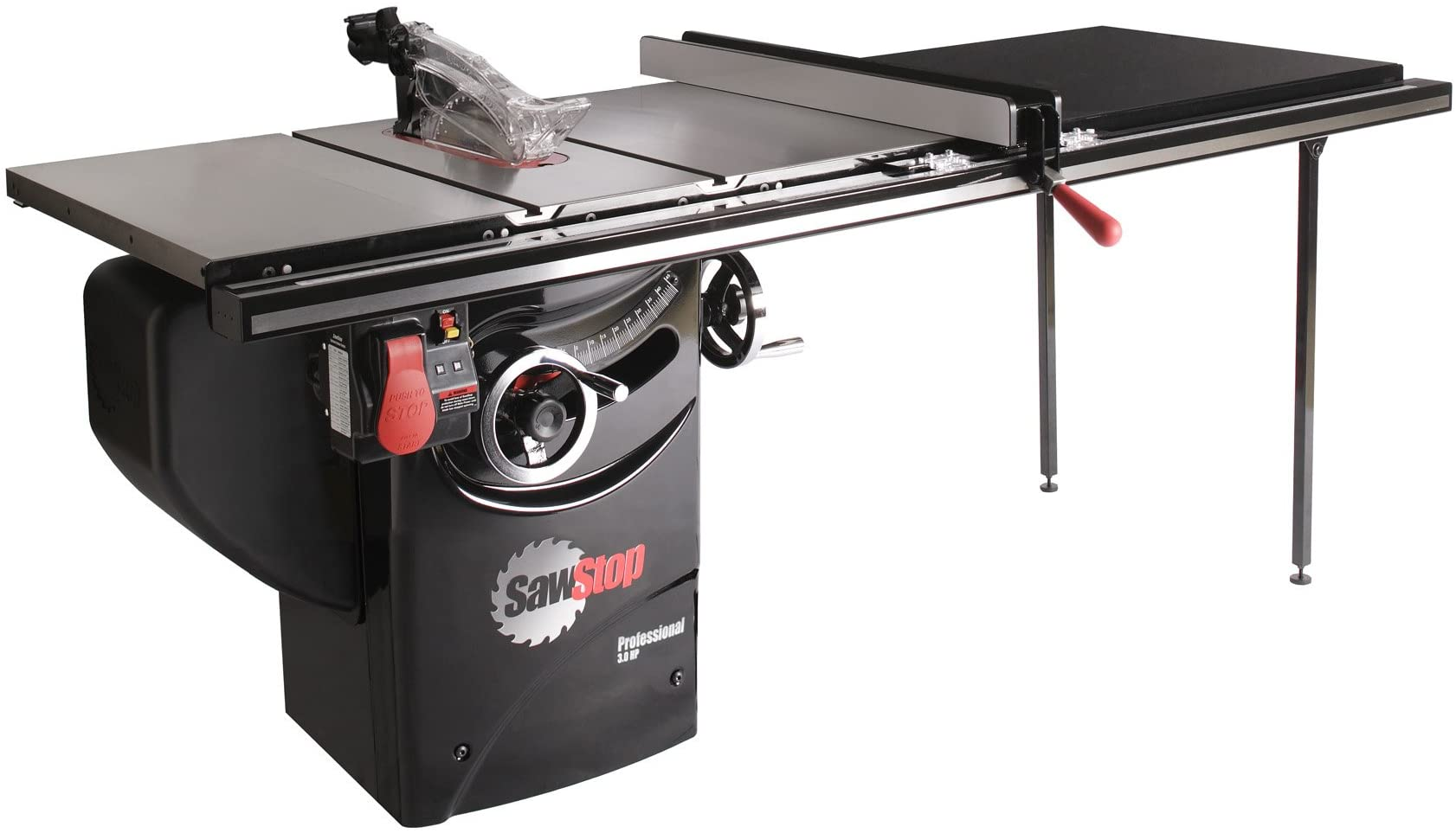 SawStop 10-Inch Professional Cabinet Saw, 3-HP, 52-Inch Professional TGlide  Fence System (PCS31230-TGP252) - Power Table Saws - Amazon.comAmazon.com