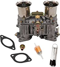 KIPA Carburetor For Weber 48 IDA 48IDA Vertical Carb, Replace OE Number 19030.018, Proper jetting & tuning With Carbon Dirt Jet Cleaner Tool Kit & Fuel Filter