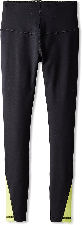 Lysse Women's Full Length Fit Pant, Black/Citron, X-Small