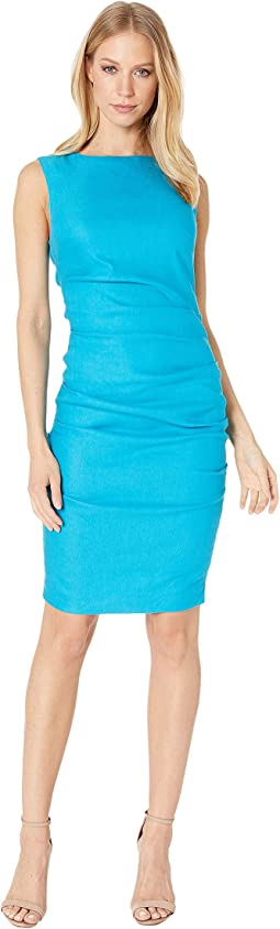 0b5a527c Nicole miller lauren cotton metal sheath | Shipped Free at Zappos