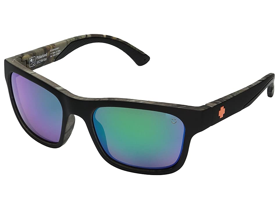 Spy Optic Hunt (Decoy Xtra/Happy Bronze Polar/Green Spectra) Athletic Performance Sport Sunglasses