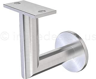 Stainless Steel Handrail Wall Bracket Luminous Quasar (Mounting Surface: Wood or Sheet Rock)
