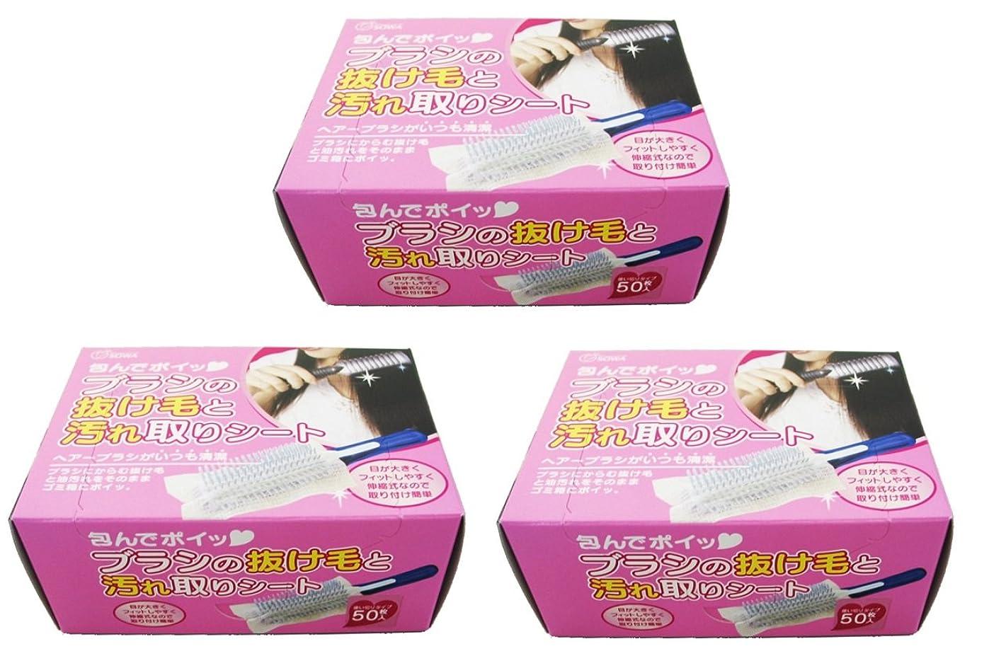資源リンス無人ブラシの抜け毛と汚れ取りシート 80枚入 (3個)