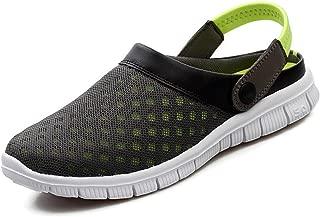 SAGUARO Women's Mens Mesh Garden Clog Shoes Sandals Summer Indoor/Outdoor Walking Slipper