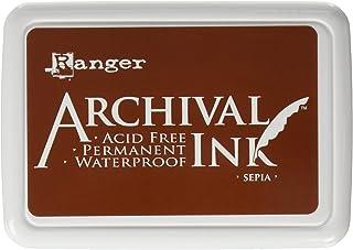 Ranger AIP-31505 Archival Inkpad, Sepia