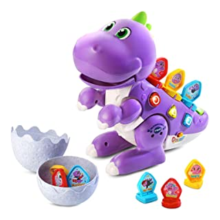 VTech Mix and Match-a-Saurus (Frustration Free Packaging), Purple