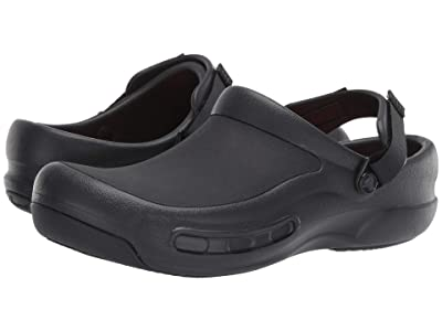 Crocs Work Bistro Pro LiteRidetm Clog (Black) Clog/Mule Shoes