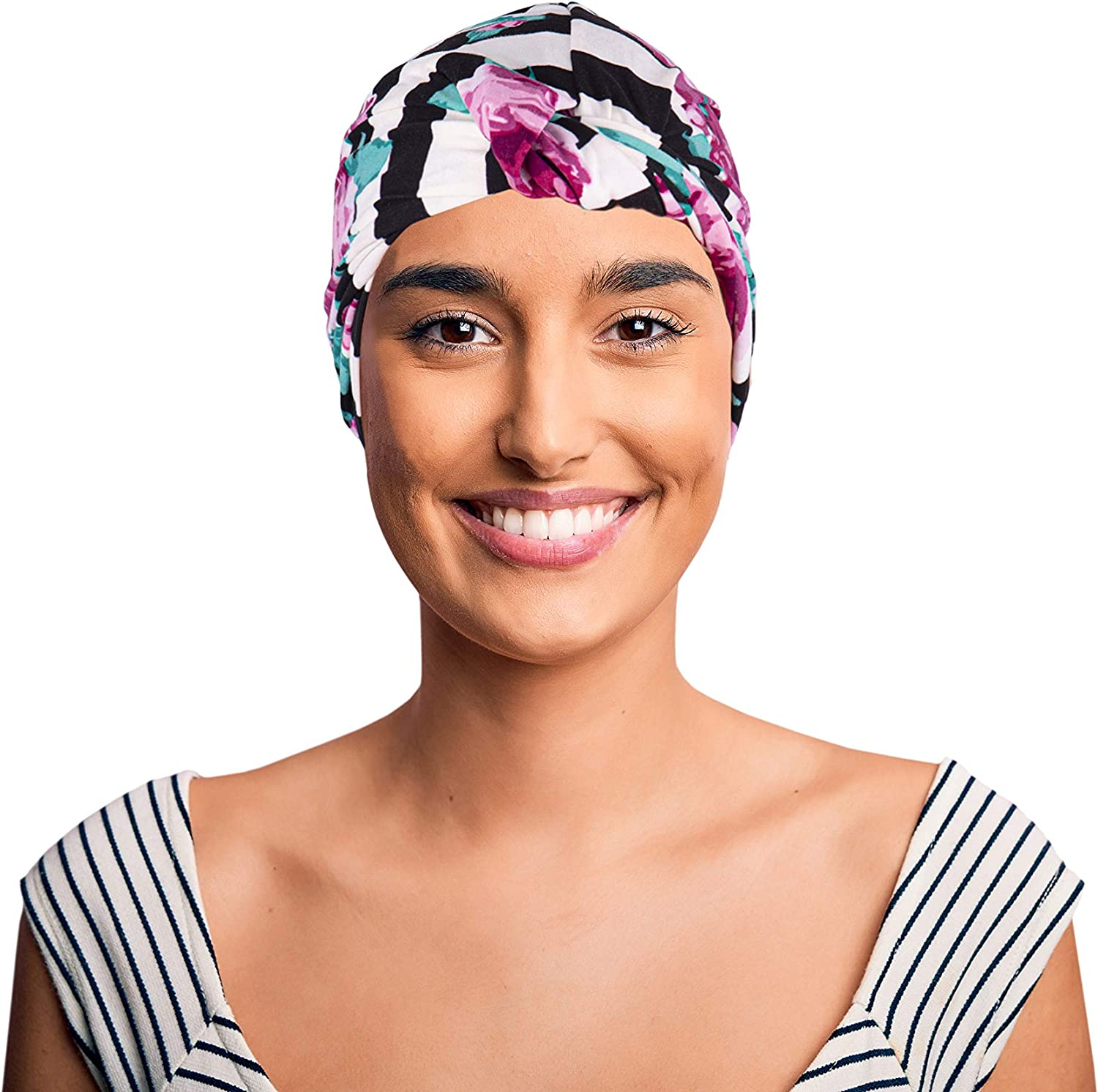 Lefty Production Co. Chemo Headwraps for Women with Cancer Hair Loss. Soft Ultra Premium Cotton Beanie Cap