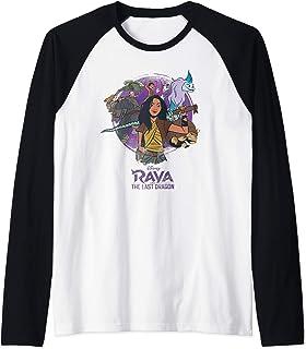 Disney Raya and the Last Dragon Raya and Crew Manche Raglan