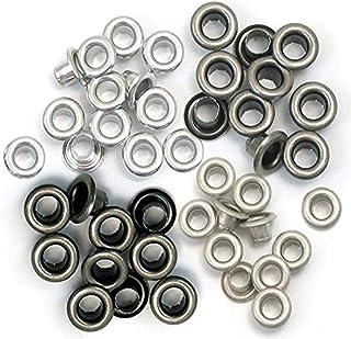 Set de 60 eyelets para Crop a Dile color rojo de 0,5cm 41573-2